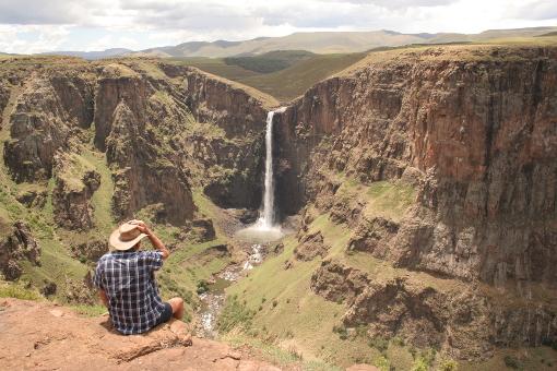 Lesotho Maletsunyane Waterfall